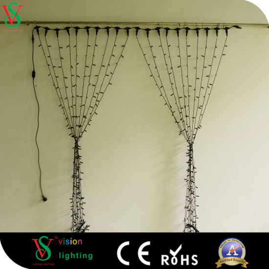 wholesale cheap led curtain light connectable string lights