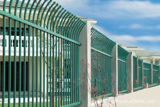 Pressed Spear Top Security Fencing pictures & photos
