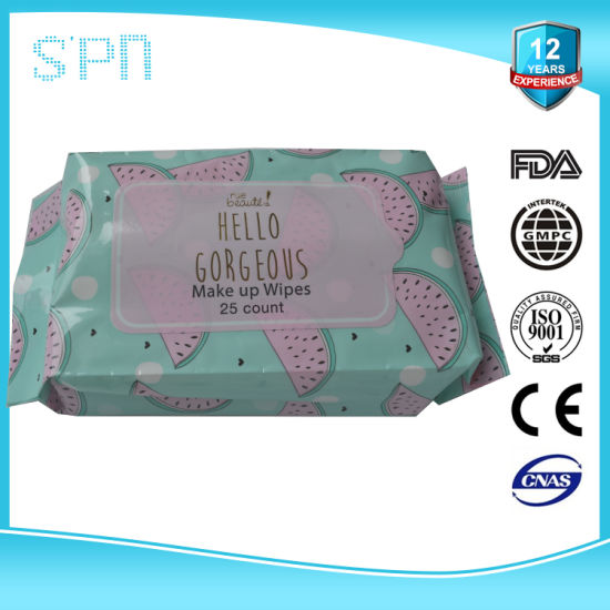 Private Label Oil Free Eye Makeup Remover Pads