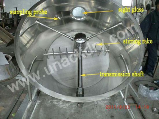 SUS316 Pharmaceutical Fluid Bed Dryer/ Drying Equipment for Sale pictures & photos