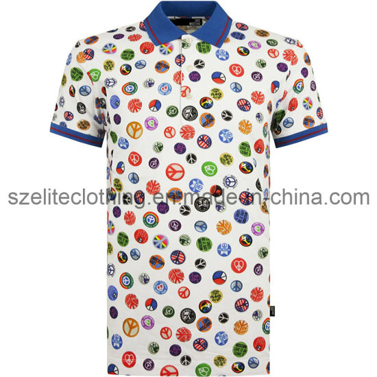 Full Sublimation Polo Shirts Wholesale (ELTMPJ-200)