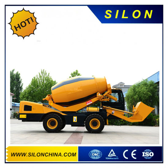 Cummins Engine Type 4.0 M3 Self-Loading Concrete Mixer (HK4.0) pictures & photos