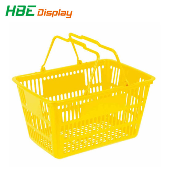 Best Selling Supermarket Plastic Baskets 28L pictures & photos