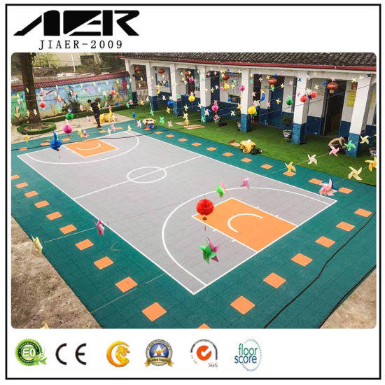 Professional High Quality Rubber Tile Floor for Indoor/Outdoor