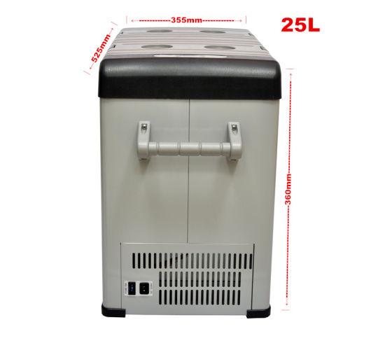 25L Mini Portable Car Refrigerator Fridge for Camping