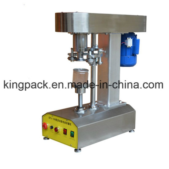 Tabletop Semi Automatic Beer Tin Can Seamer Machine