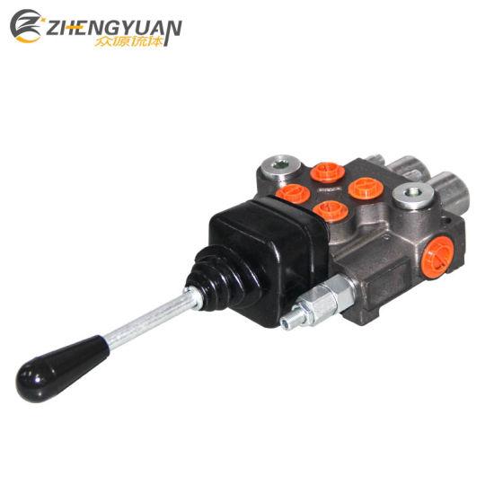 China 40lpm Hydraulic Valve Joystick Handle G3/8 Oil Port