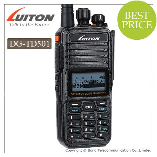 Cheap Dg-Td501 Dmr Intercom Digital Radio, Dg-Td501 Dmr UHF 400-470MHz Digital Two-Way Radio, Support Mototrbo Intercom