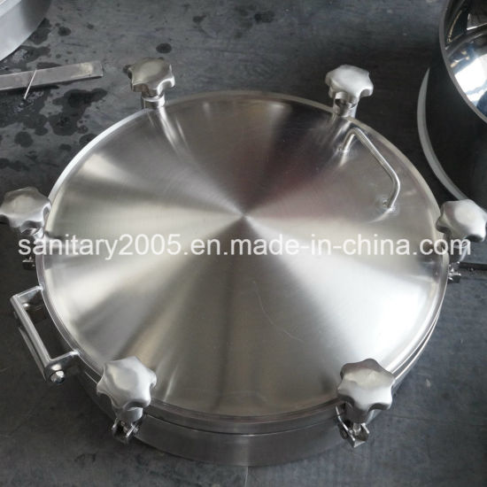 Stainless Steel Manhole Cover for Tank Manway
