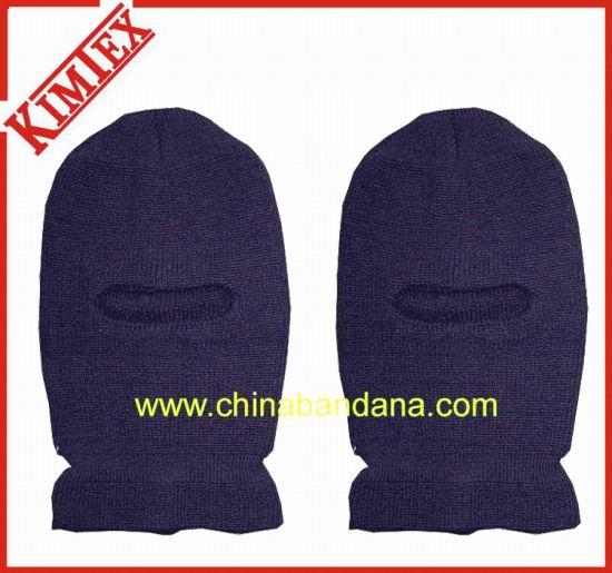 China 100% Acrylic Winter Warm Knitted Ski Bandit Hat - China Bandit ... e31e2aa08610