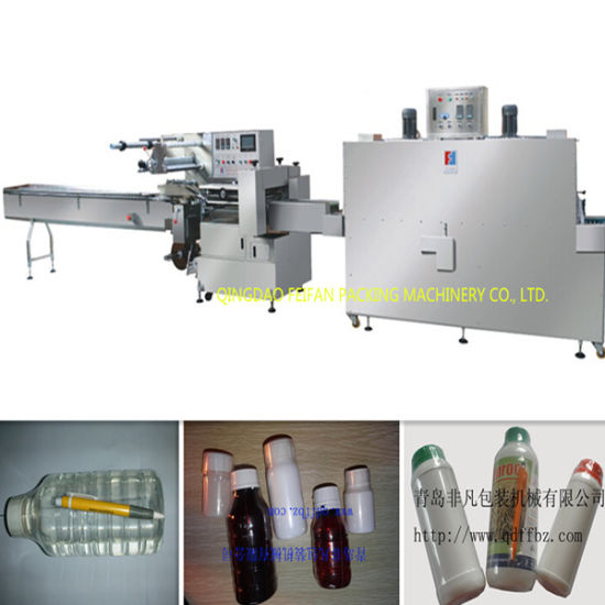 Hot Sale Automatic Pesticide Bottle Shrink Wrapping Machine