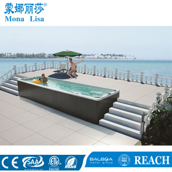 China 7.8m Home Style Outdoor Freestanding Massage Swim SPA Swimming ...