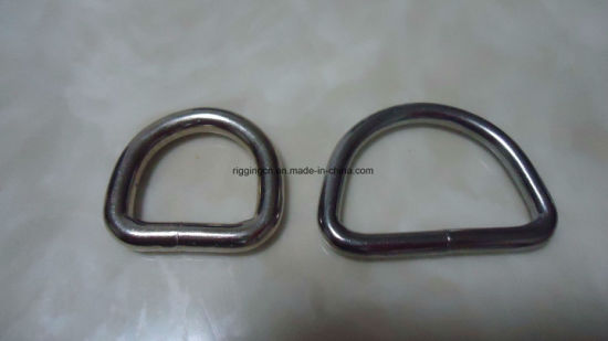 Welding D Ring for Bag Belt Accessories pictures & photos