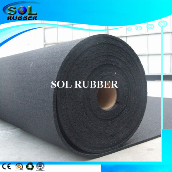 Sound Insulation Viabration Proof Rubber Flooring pictures & photos
