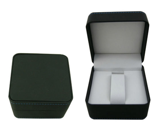 Luxury and Quality Leather Box Plastic Case for Watch (Ys109) pictures & photos