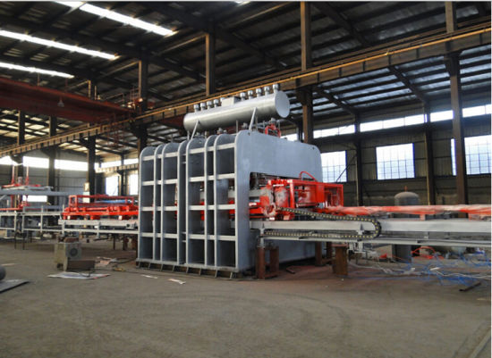 Semi-Automatic Short Cycle Hot Press Veneer Production Line pictures & photos