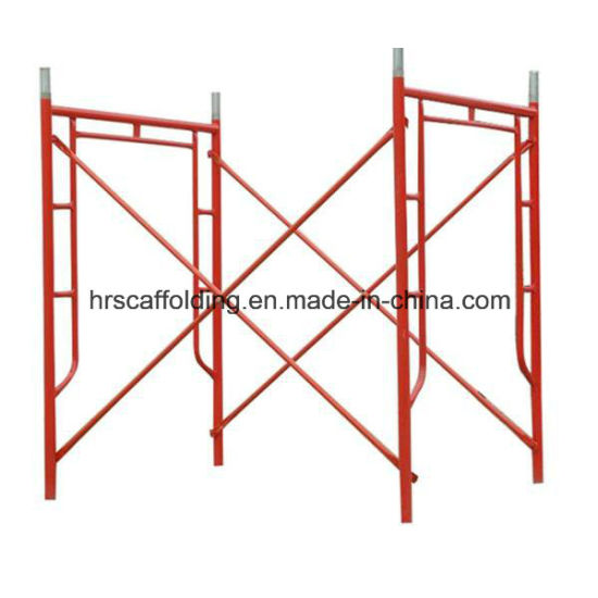 China Construction Materials Ladder American Standard Scaffold Frame ...