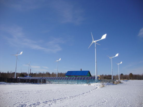 Ane Professional Wind Solar Energy Micro Grid System for Village, Farm pictures & photos