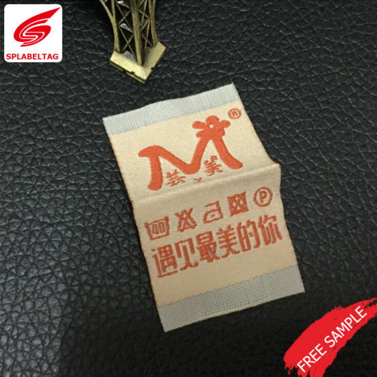Customized Factory Direct High Density Woven Label for Garment