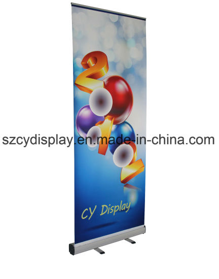 Heavy Economic Roll up Stand/ Mosquito Roll up Banner Stand pictures & photos