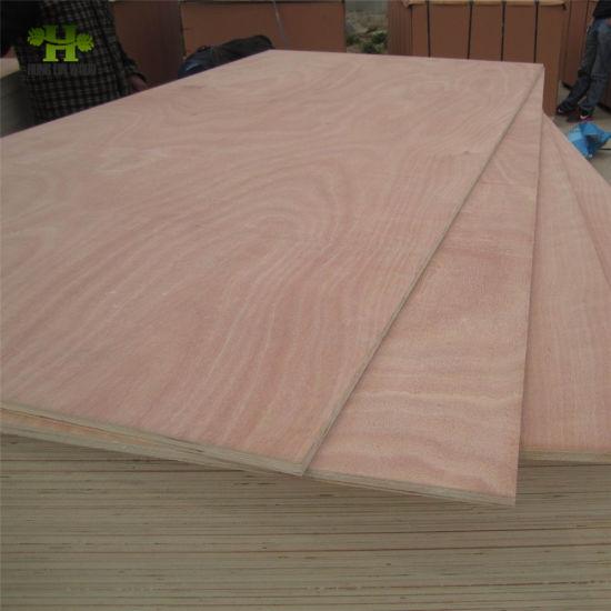 Natural Wood Veneer Commercial Plywood