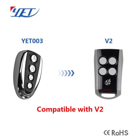 China 43392 Mhz Gategarage Door Remote Control Transmitter For Ata