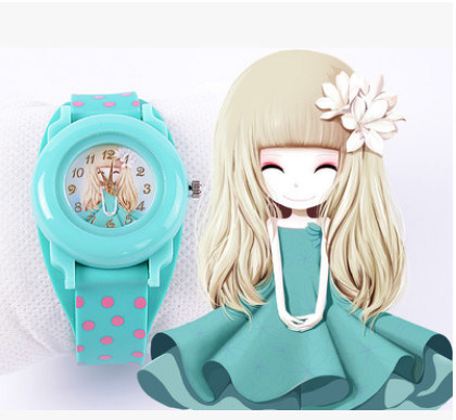 Promotion Watches Silicon Material Plastic Case Gift Wristwatch for Promotion (DC-063) pictures & photos