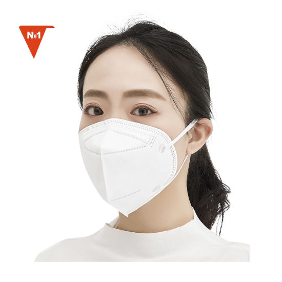 Hot-Selling High- Filtration Double Band Cup Shape Disposable Kn95 Face Mask