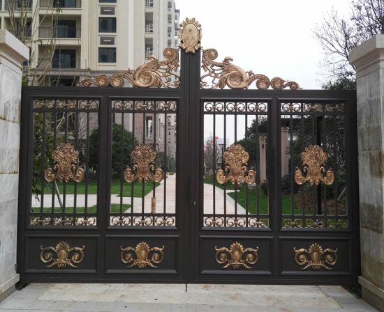 house main gate picture. Used Beautiful Decoration Galvanized Wrought Iron House Main Gate Steel  Driveway China