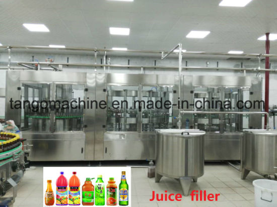 Complete Turn-Key Automatic Pet Bottle 6000bph 8000bph 12000bph Fruit Juice Plant Beverage Filling Line Machine Processing Packing Equipment pictures & photos