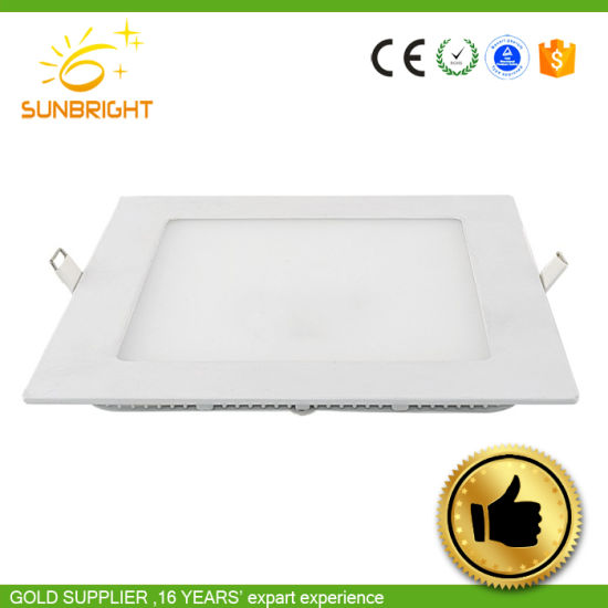 Warm White PMMA Aluminum Panel Lights pictures & photos