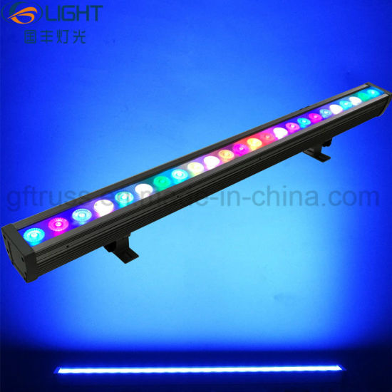 china pixel control 24pcs 3w 3in1 rgb outdoor led wall washer