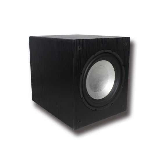 Wooden Box WiFi Airplay Dlna Mini 10 Inch WiFi-Sub480 180W 2.1 Channel Bluetooth Active Subwoofer with USB Bluetooth