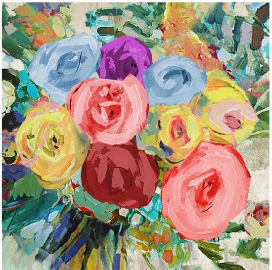 Large Hand Painted Flowers Wall Art Modern Oil Painting Contemporary Decor Artwork (30X 40 inch) GF-P19052788 pictures & photos