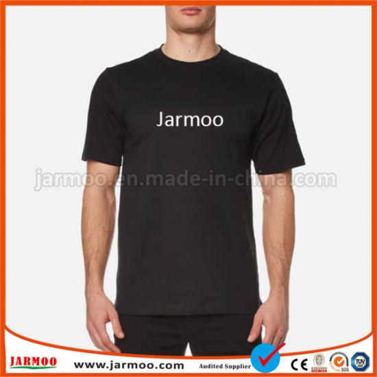 1301447f China New Comfortable Silk Printed Unisex Plain T-Shirt - China ...