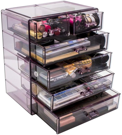 Cosmetics Makeup and Jewelry Storage Box 4 Large and 2 Small Drawers Space Multi-Functional Box  sc 1 st  Fuzhou Haomin Imp. u0026 Exp. Co. Ltd. : jewelry storage box  - Aquiesqueretaro.Com