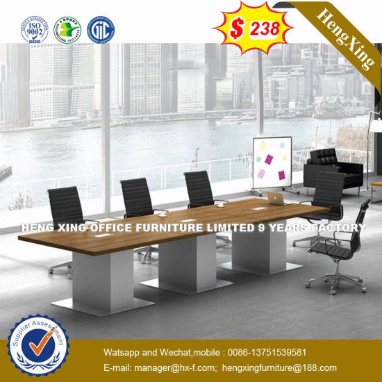 China Panel Triangle Meeting Room Square Conference Office Table HX - Triangle conference table