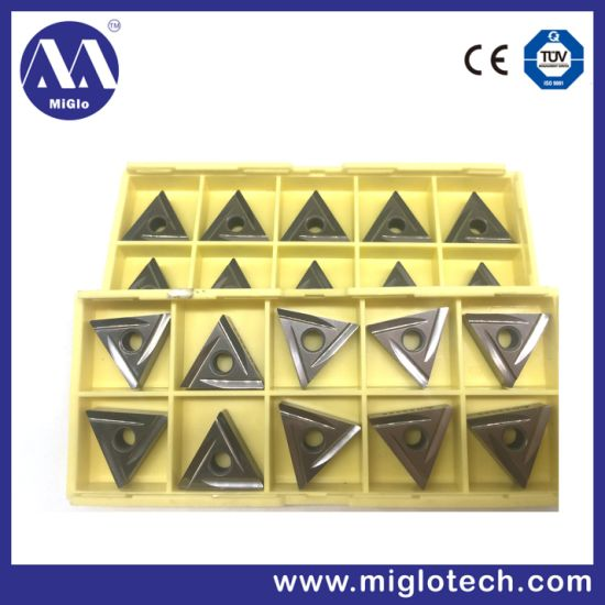 Customized CBN Turning Inserts Cubic Boron Nitride Tool (CB-100036) pictures & photos
