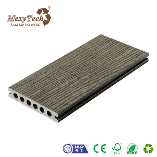 Guangdong Factory Plastic Composite Outdoor Wood Grain WPC Decking for Swimming Pool pictures & photos