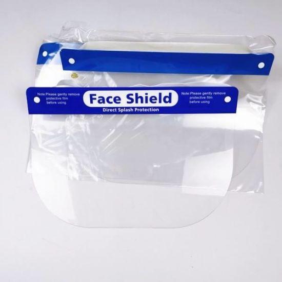 Isolation Face Shield Disposable Pet Face Shield Anti-Fog Anti-Foam Splash