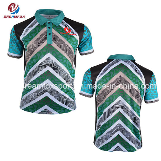 Cheap Custom Sublimation Company and School Uniform Polo Shirt pictures & photos