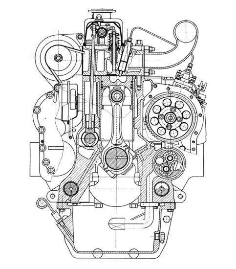 China Diesel Engine For Generator Engine 4jr3abd Power Engine For