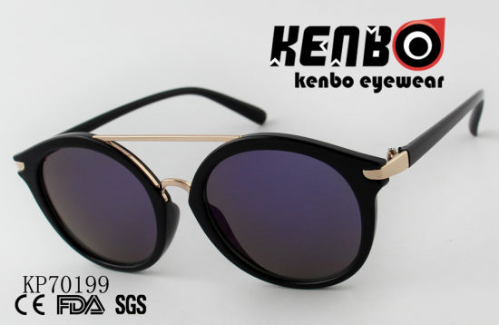 04631456fe5e China Cat Eye Sunglasses with Round Lenses and Top Bar Kp70199 ...