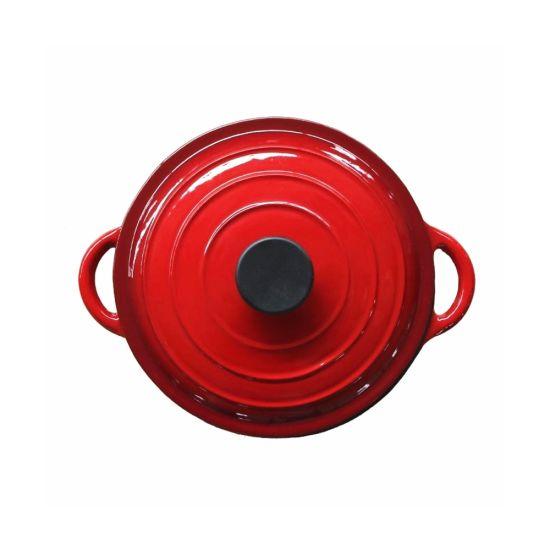 Enamel Cast Iron Dutch Oven Cooking Pot