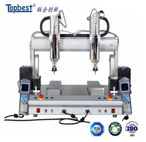 Automatic Screw Locking Robot with 2 Screwdriver and 2 Working Station/ Automatic Screw Fastening Machine /Automatic Screw Tightening Machine