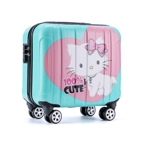 Children Travel Suitcase Cute Cartoon Luggage Bag (HXW-L002) pictures & photos