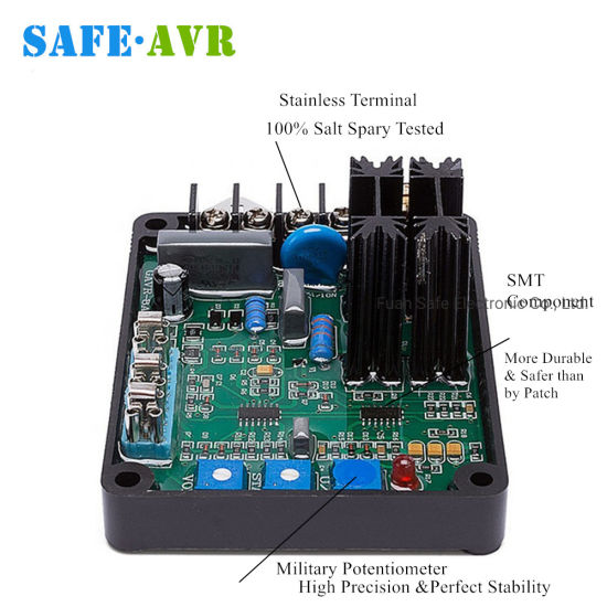 China Factory Price High Quality Gavr 8a Brushless Type Avr For 3 Phase Single Phase Generator Auto Spare Parts Automatic Voltage Regulator Circuit Diagram Avr China Gavr 8a Avr Avr