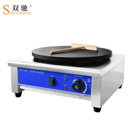 Commercial High Quality Crepe Making Machine/Electric Crepe Maker Machine pictures & photos