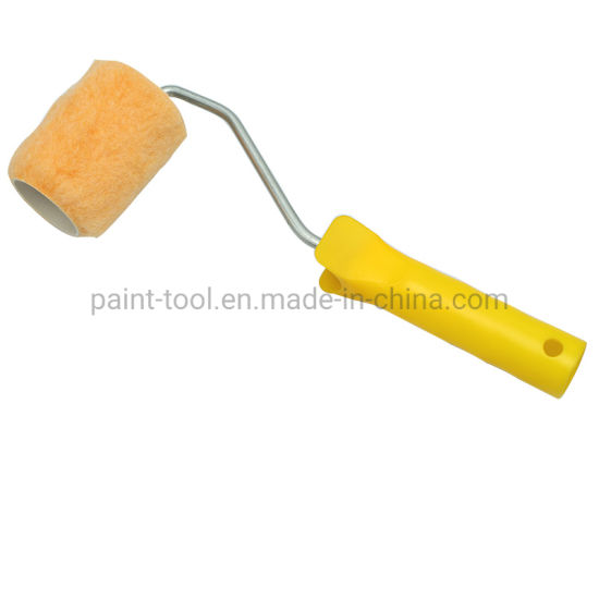 Chinese Supplier Mini Roller Cover Yellow Color with Light Handle Manufactured