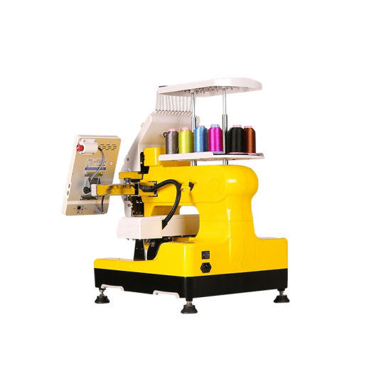 New Commercial Embroidery Machine Flat Cap T Shirts Embroidery Machine